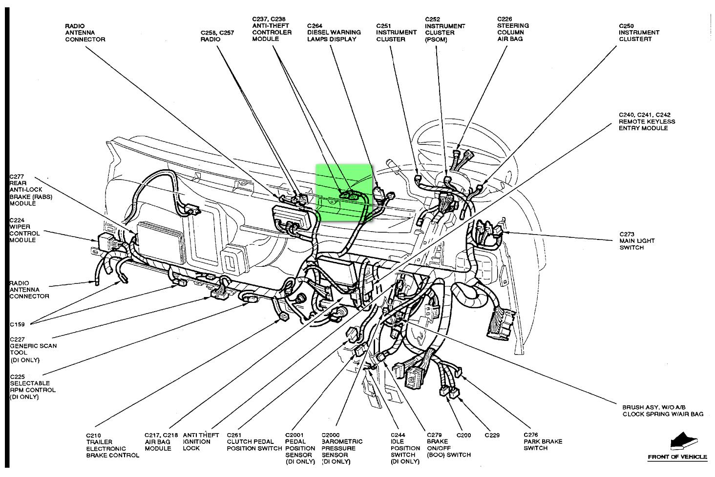 1994 Ford Bronco Wiring Diagram For Psom Automotive Lights And F 150 Links Anti Theft System Rh Schwimserver5 Com Fuel Pump 1993